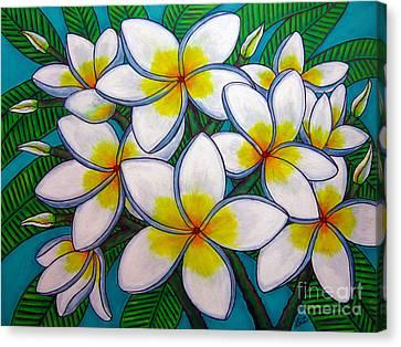 Caribbean Gems Canvas Print by Lisa  Lorenz