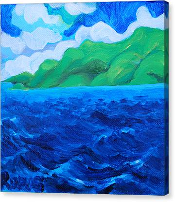 Canvas Print - Caribe Seascape by Rufus Norman