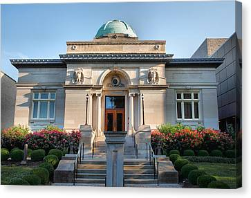 Carnegie Library Canvas Print by Steven Ainsworth