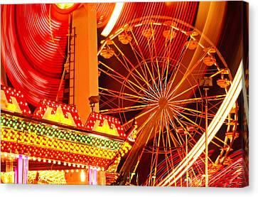 Carnival Lights  Canvas Print