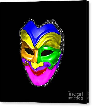Canvas Print featuring the photograph Carnival Mask by Blair Stuart