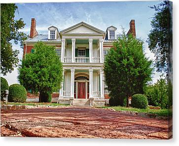 Carnton Plantation Canvas Print - Carnton Plantation by Pamela Parton