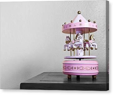 Carousel Toy  Canvas Print by Natee Srisuk
