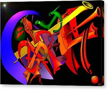 Carpe Diem IIi Canvas Print by Helmut Rottler