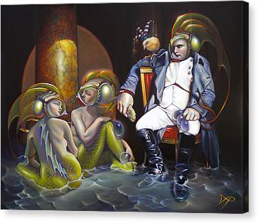 Carpoleon Bonafish Canvas Print