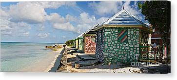 Carribean Style Panorama Canvas Print by Jim Chamberlain