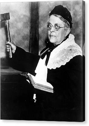 Carrie Nation, Circa 1900 Canvas Print by Everett