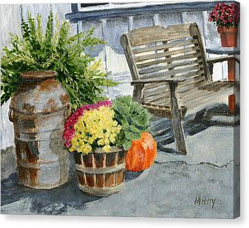 Carversville General Store Canvas Print
