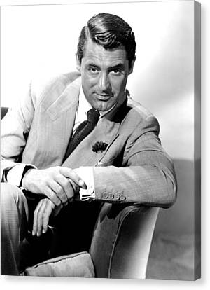 Cary Grant, Portrait Canvas Print by Everett