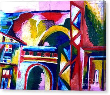 Casablanca Canvas Print by Faye Halsall