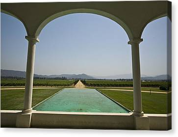 Casablanca Valley, A Wine Growing Canvas Print by Richard Nowitz