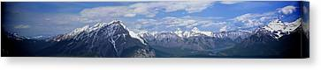 Cascade Canvas Print by Aaron Fisher