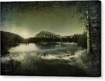 Cascade Pond Banff Canvas Print