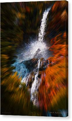 Cascade Waterfall Canvas Print by Mick Anderson