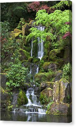 Cascading Waters Canvas Print