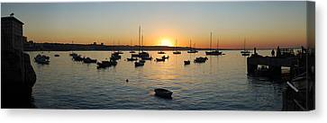 Cascais At Dawn Canvas Print