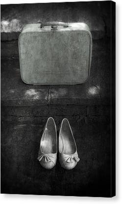Case And Shoes Canvas Print by Joana Kruse