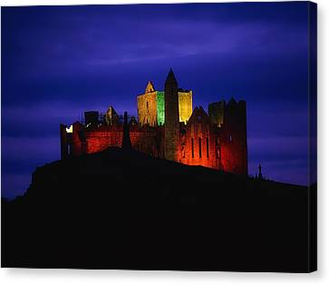 Cashel Rock, Co Tipperary, Ireland Canvas Print by The Irish Image Collection