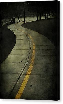 Casledowns Road  Canvas Print by Jerry Cordeiro