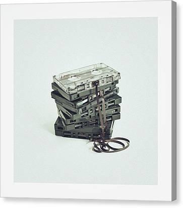 Cassette Canvas Print by Sbk_20d Pictures
