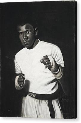 Cassius Clay Canvas Print by L Cooper
