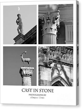 Cast In Stone Canvas Print by Gordon Wood
