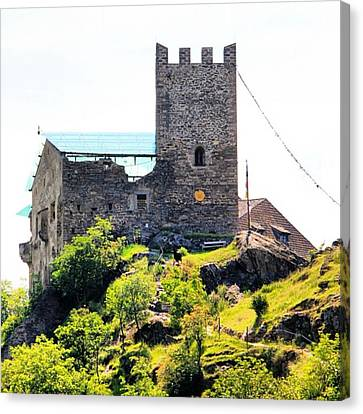 Castel Juval Canvas Print by Luisa Azzolini