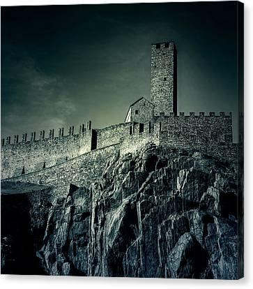Castelgrande Bellinzona Canvas Print by Joana Kruse