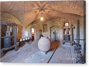 Castello Banfi Museum Canvas Print