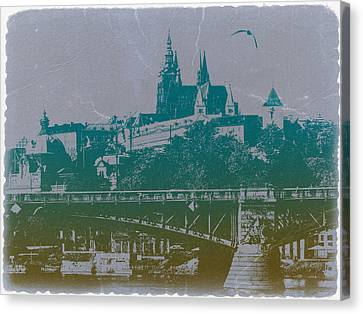 Castillo De Praga Canvas Print