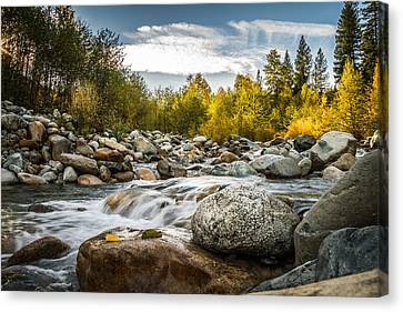 Canvas Print featuring the photograph Castle Creek by Randy Wood
