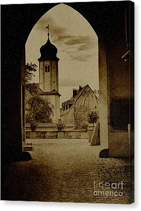 Castle Gate Canvas Print by Heiko Koehrer-Wagner