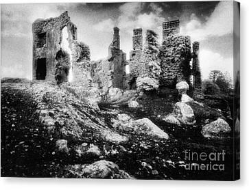 Castle Lyons Canvas Print by Simon Marsden