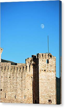 Castle Moon Canvas Print by Amee Cave