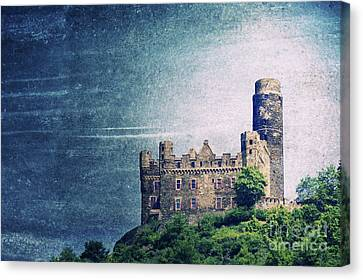 Castle Mouse Canvas Print by Angela Doelling AD DESIGN Photo and PhotoArt
