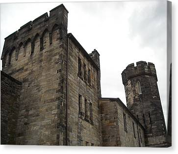 Castle Penitentiary Canvas Print by Christophe Ennis