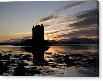 Castle Stalker Canvas Print by Pat Speirs