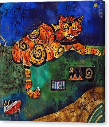 Cat Canvas Print by Sandra Kern