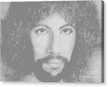 Cat Stevens Canvas Print by Denise Haddock