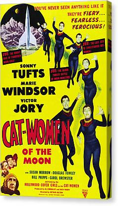 Cat Women Of The Moon, Sonny Tufts Canvas Print