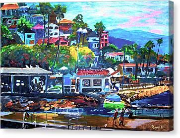 Catalina Island 2 Canvas Print by Rom Galicia