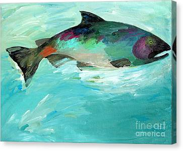 Catch 2 Canvas Print by Lisa Baack