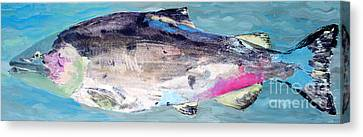 Catch 5 Canvas Print by Lisa Baack
