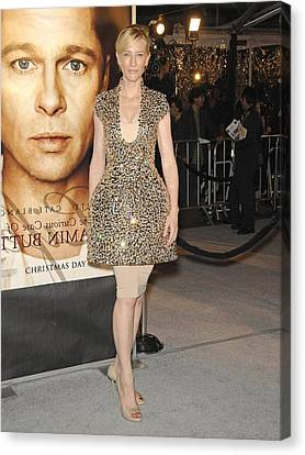 Cate Blanchett Wearing Alexander Canvas Print by Everett