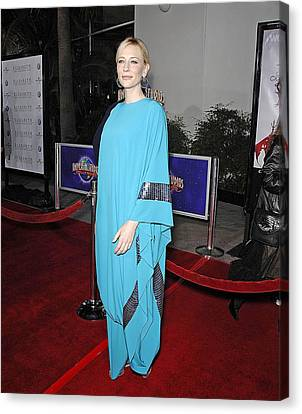 Cate Blanchett Wearing Missoni Canvas Print by Everett