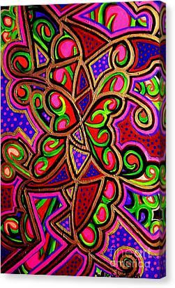 Caterpillars And Butterflys  Canvas Print by Brenda Marik-schmidt