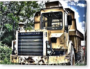 Caterpillar's Front Canvas Print by Shane York