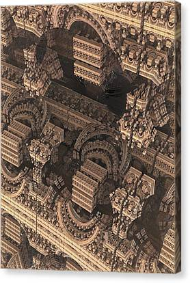 Science Fiction Canvas Print - Cathedral 1 by Jacob Bettany