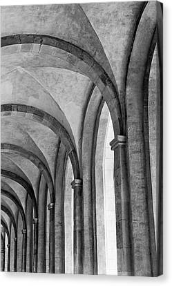 Cathedral At Eberbach Monastery Canvas Print by Dg73