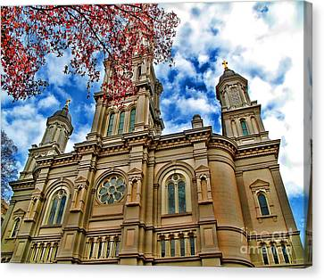 Cathedral Canvas Print by Jason Abando